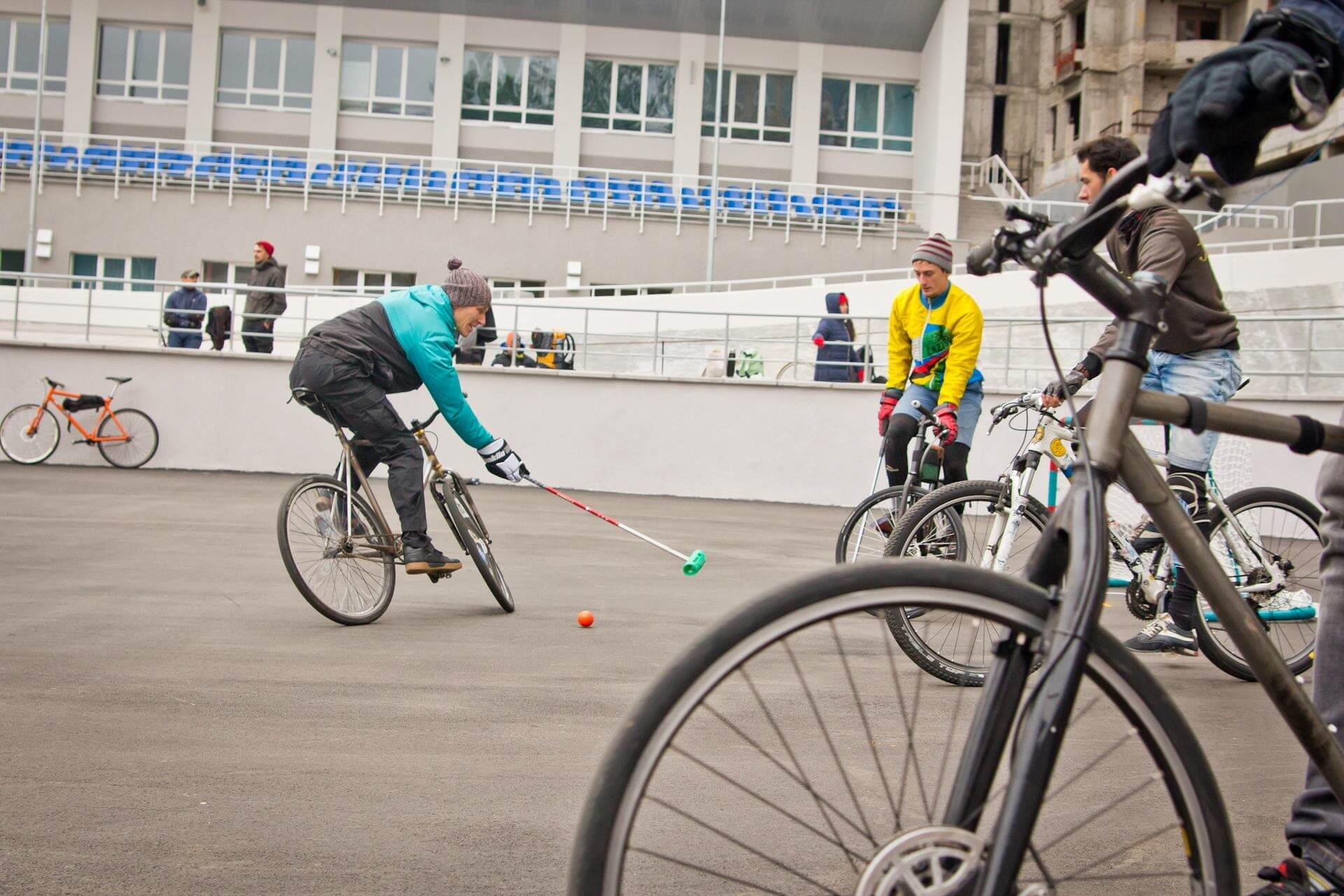 Kyiv Hardcourt Bike Polo